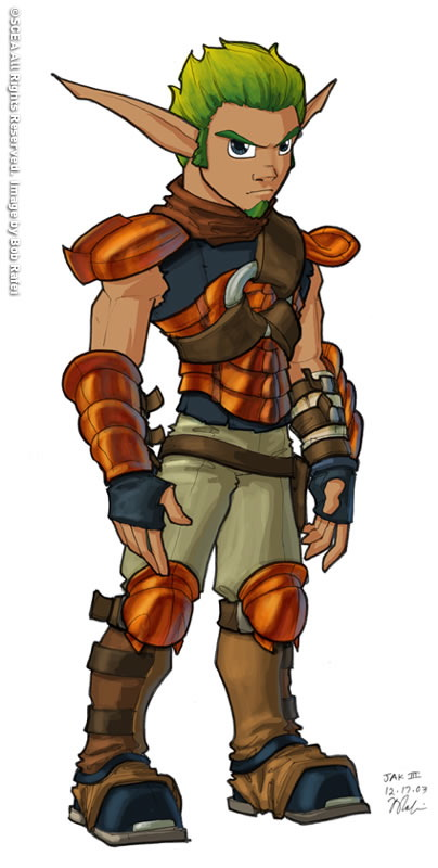 Jak and Daxter: The Precursor's Hero